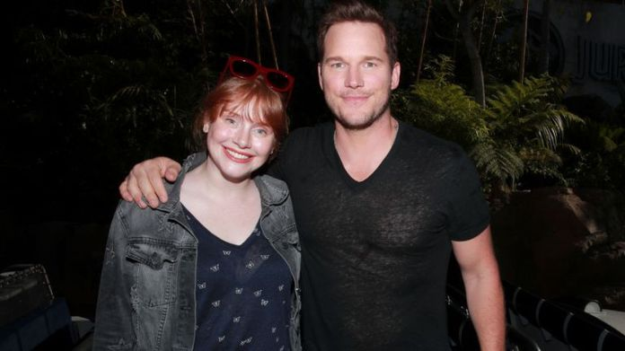 Bryce Dallas Howard and Chris Pratt to film in the UK