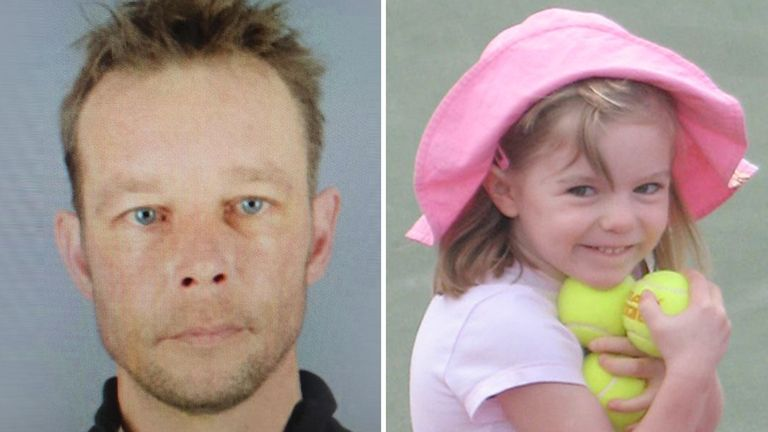 'Christian B' is the new suspect in the disappearance of Madeleine McCann