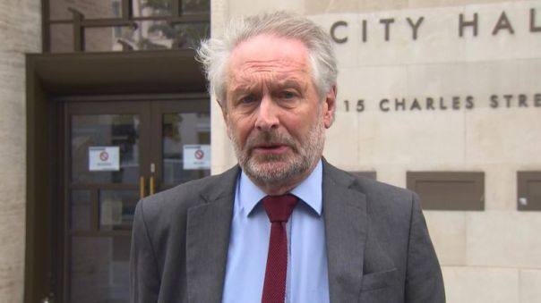 Leicester city Mayor Sir Peter Soulsby