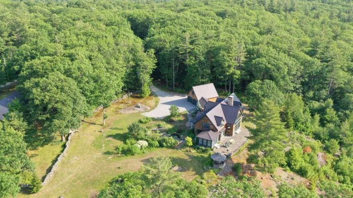 Ghislaine Maxwell lived on a secluded property in Bradford, New Hampshire, when she was arrested
