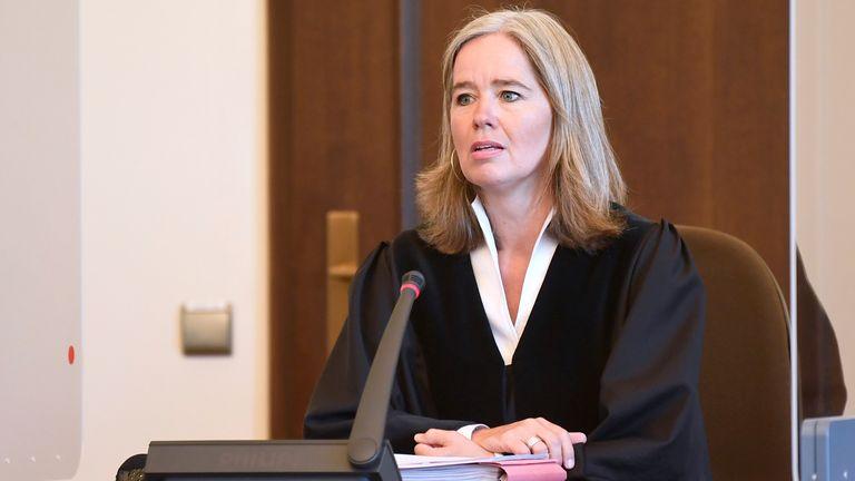 Judge Anne Meier-Goering presided over the nine-month trial