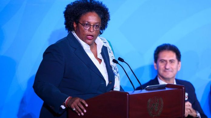 """Mia Amor Mottley plans to introduce """"Barbados Welcome Stamp"""""""
