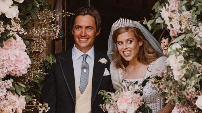 Princess Beatrice got married in a small, private ceremony in Windsor