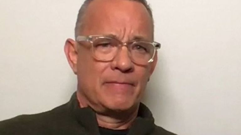 Tom Hanks says he has no respect for you if you can't socially distance