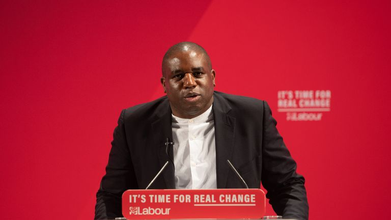 File photo dated 26/11/19 of Shadow justice secretary David Lammy who has said there have been several reviews into racism in the UK in recent years - and the announcement of Boris Johnson's pledge to establish a cross-government commission on racial inequality, makes it feel like