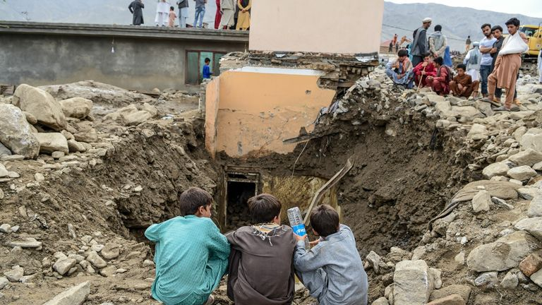 More than 300 homes have been destroyed from flooding in Afghanistan
