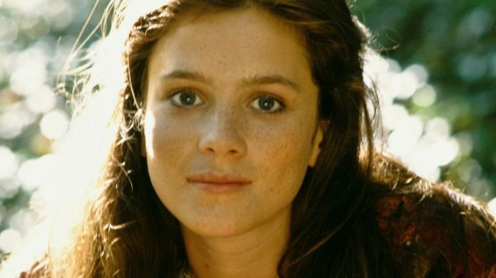 Actress Anna Friel pictured in 1992 while starring in Brookside