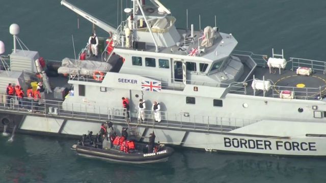 Some 4,000 migrants have already crossed the channel this year with more arriving during the clear weather this week.