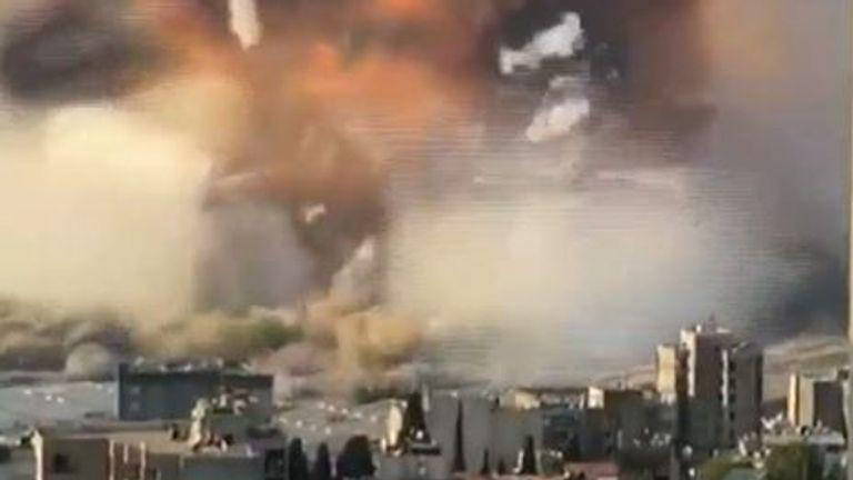 Second blast tears across Beirut