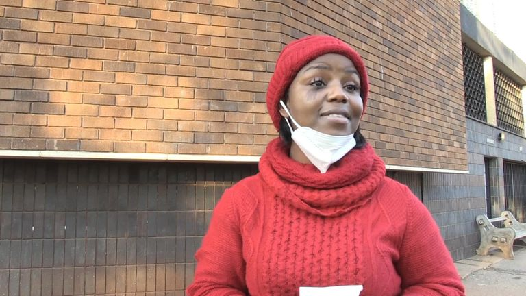 Fadzayi Mahere broadcast her arrest on Facebook