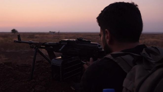 The Al Hamza Division is the elite unit of Syria's opposition forces