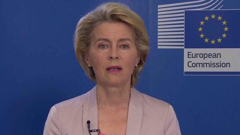 European Commission President Usula Von Der Leyen