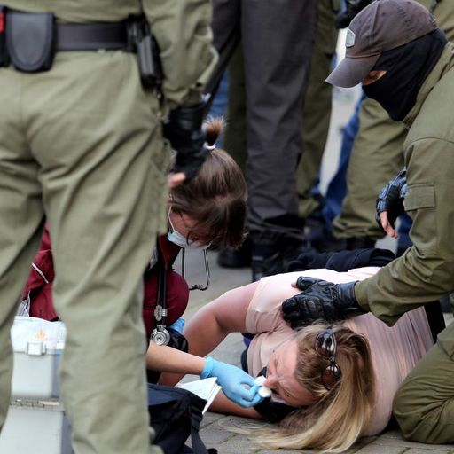 'There were blood smears on the walls': Belarus protesters traumatised by brutal treatment