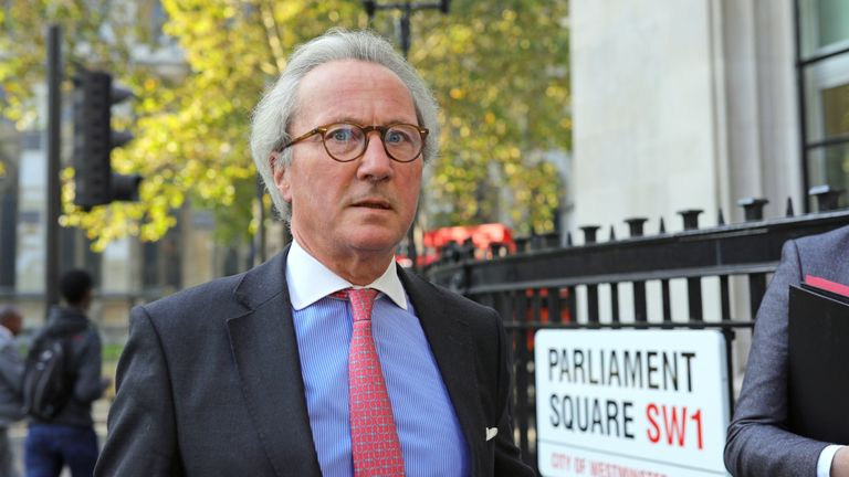 Advocate General for Scotland, Lord Keen QC, arrives at the Supreme Court, London, where judges are considering legal challenges to Prime Minister Boris Johnson's decision to suspend Parliament.