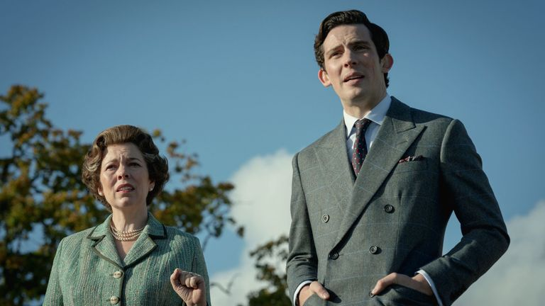 Olivia Colman as Queen in first-look pictures from The Crown's upcoming fourth series. Image: Netflix