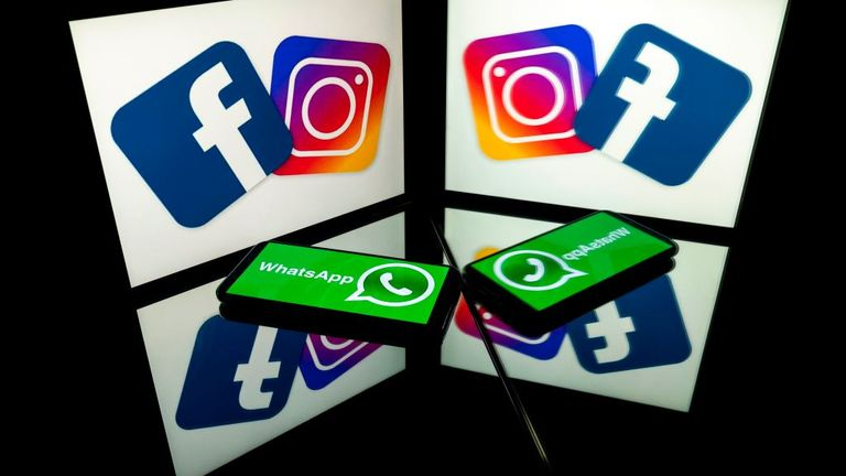 Facebook also owns Instagram and WhatsApp