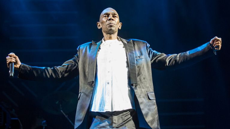 Maxi Jazz of Faithless