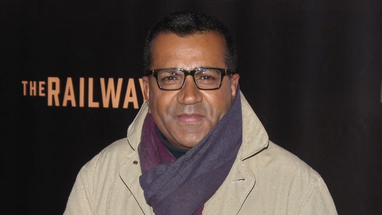 "Journalist Martin Bashir attends the ""Railway Man"" premiere on April 7, 2014 in New York City."
