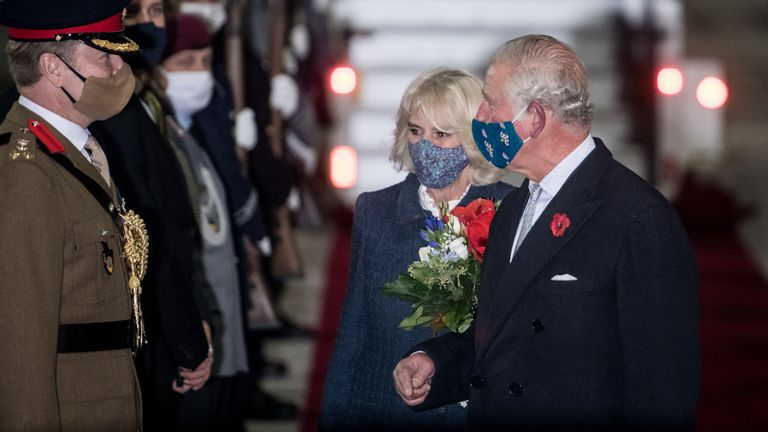 The prince will encourage Germany and the UK to 'act together'