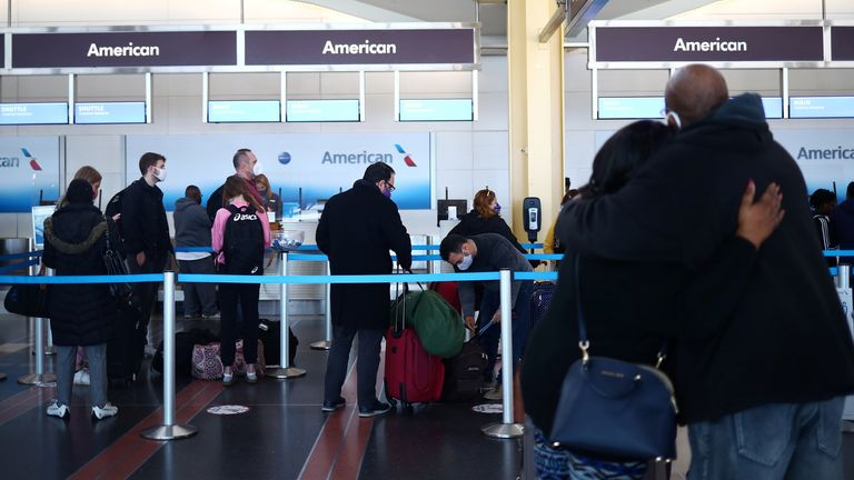 Air travel has hit its highest levels since the pandemic began
