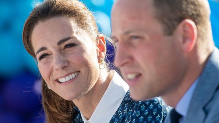 William and Kate will travel more than 1,000 miles on their train journey around the UK