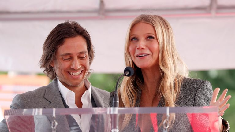 Paltrow married Brad Falchuk in 2018