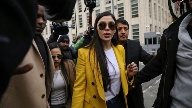 Emma Coronel Aispuro has been accused of helping her husband escape prison
