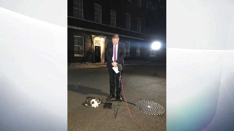 Larry has kept reporters company on a many a long night covering the Prime Minister