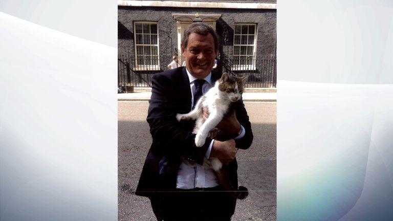 A seasoned veteran of the UK's political scene, being held by Jon Craig