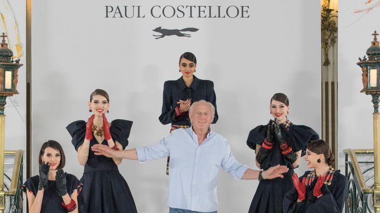 Paul Costelloe - AW21 models. Pic: BFC