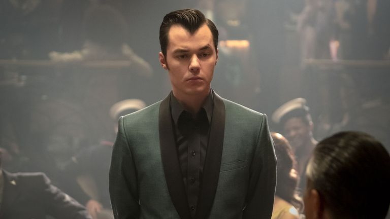 Jack Bannon plays Alfred Pennyworth in Pennyworth. Pic: Lionsgate/Starzplay