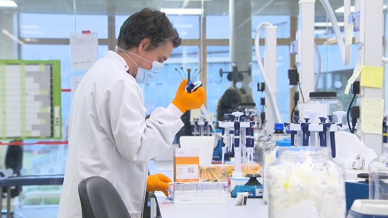 British scientists at the University of Nottingham are developing a COVID vaccine with built-in insurance against mutations in the virus