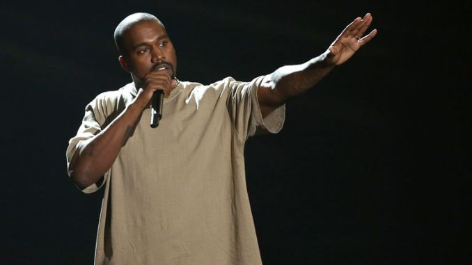 Kanye West becomes the richest black man in US history. Pic: AP