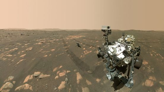 Rover Perseverance takes selfies on Mars by Ingenuity helicopter ahead of the first attempt to fly on an alien planet |  Science and technology news