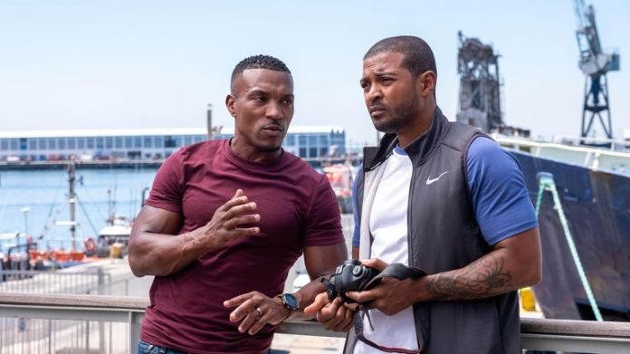 Noel Clark (right) and Ashley Walters starred in Bulletproof