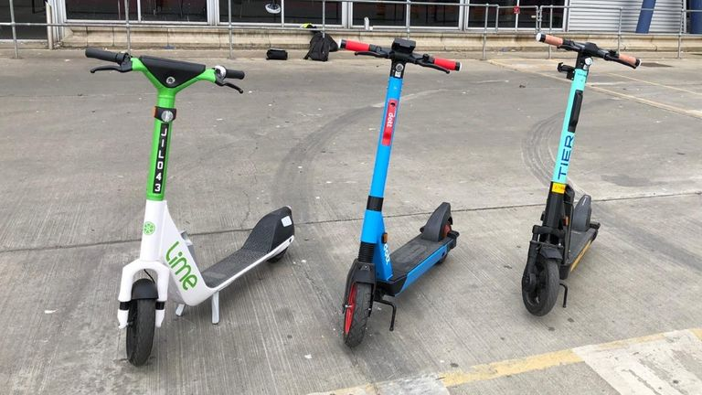 The trials with e-scooters will start in London on June 7th