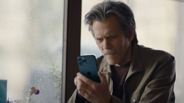 Kevin Bacon in a 2020 EE advert. Pic: EE/YouTube