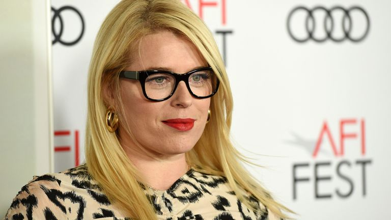 Amanda de Cadenet poses at the premiere of On The Basis Of Sex at the 2018 AFI Fest in Los Angeles in 2018. Pic: Chris Pizzello/Invision/AP