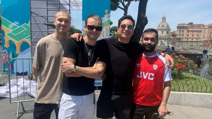 Seb, Sol, Dan and Shawn have travelled to Rome for the first game of Euro 2020