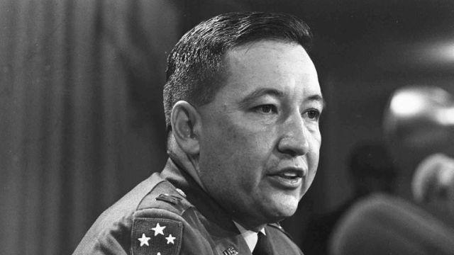 Capt. Ernest Medina, a key figure in the 1968 My Lai massacre