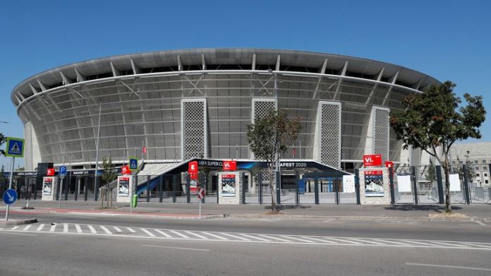The Puskas Arena in Budapest