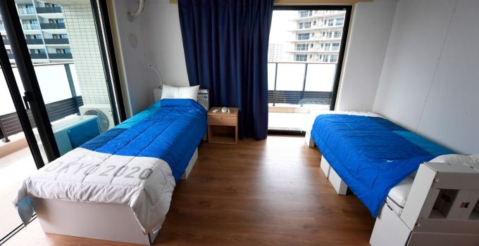 Tokyo 2020: Athlete debunks rumours of 'anti-sex' cardboard beds in Olympic Village by carrying out bounce test   World News