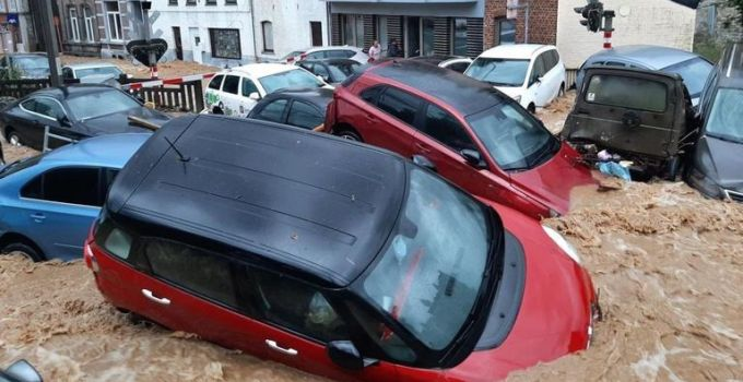 Belgium devastated by flooding for second time in just over a week   World News