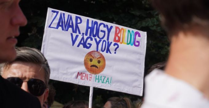 Budapest celebrates Pride as protesters hit back at Hungary's rules to restrict 'homosexual propaganda'   World News