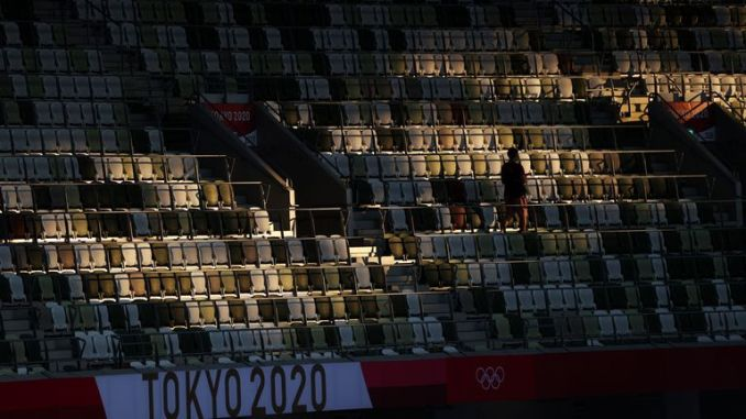 COVID-19 has meant that athletes will be competing for gold in empty stadiums