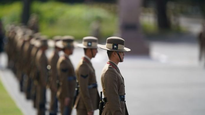 The Brigade of Gurkhas comprises more than 4,000 Nepalese soldiers