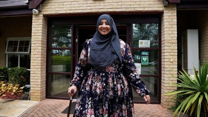 'It's the hardest thing I've had to overcome in my life,' Ms Aslam says