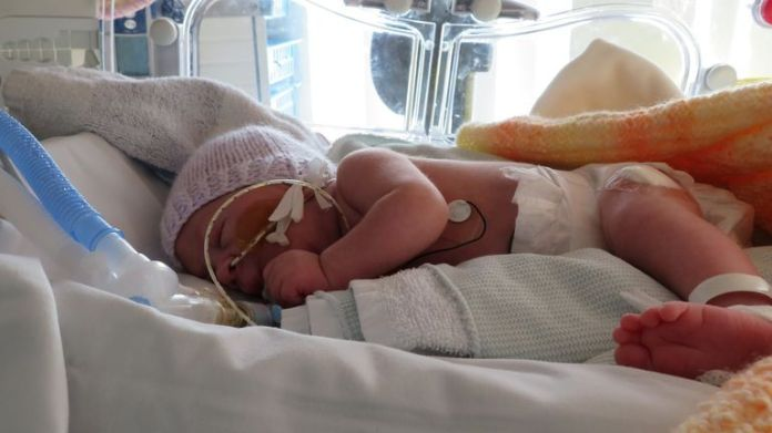 Alta has been in hospital since she was born