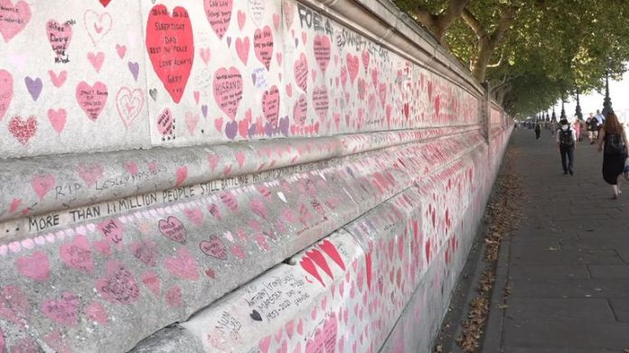 MPs have also joined calls to permanently preserve the memorial wall