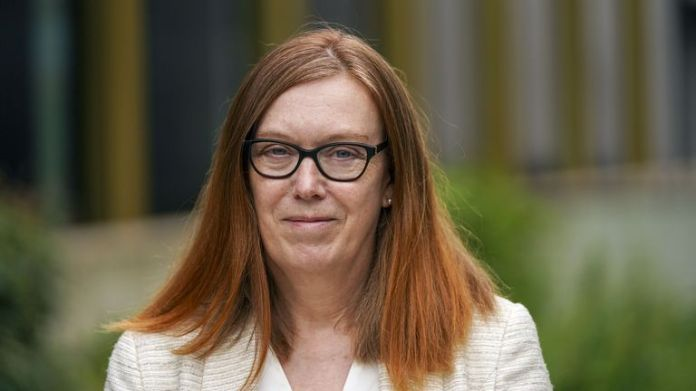 Dame Sarah downplayed fears of a new more deadly virus
